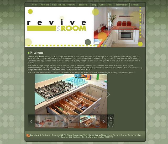 Revive my Room website